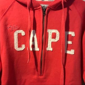 Tops - Cape Cod Cuffy's 1/4 Zip Hoodie